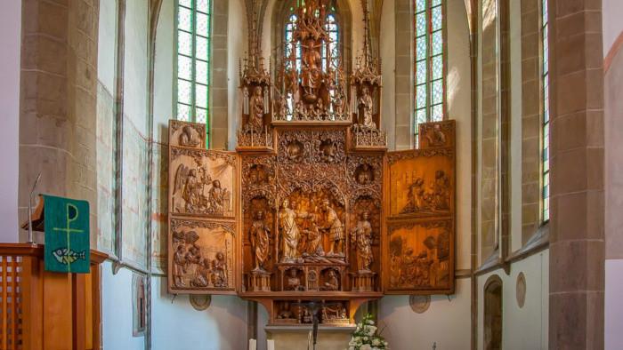 Oltár svätých Petra a Pavla z prelomu 17. a 18.storočia