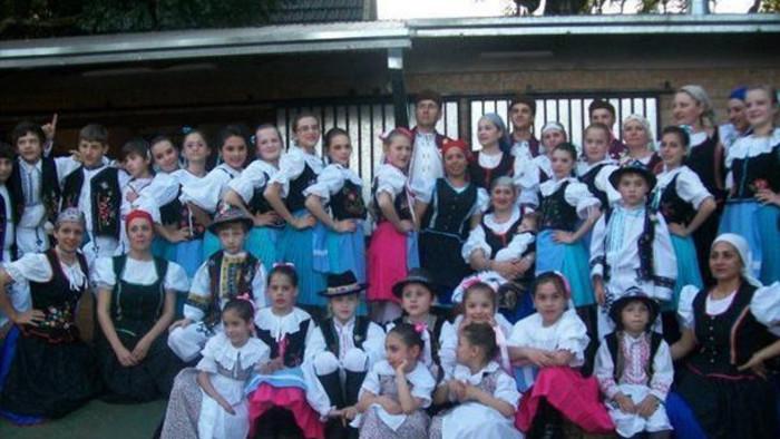Melanie Gutiérrez – profesora de danza del conjunto Moravanka