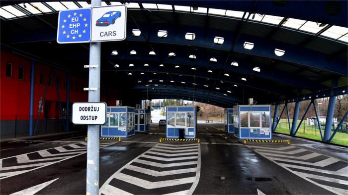 Coronavirus: Ukraine places Slovakia among 'Green Countries'