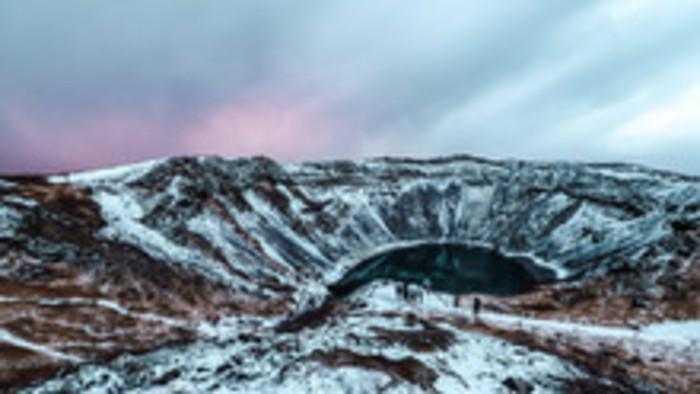 Island – čaro ostrova v zime