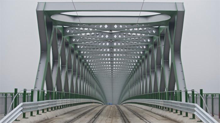 130 лет назад был открыт первый мост в Братиславе