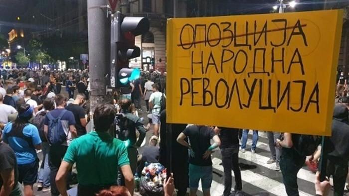 Fokozódó tüntetéshullám Szerbiában