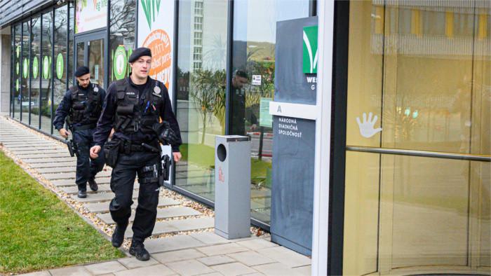 Žilina region top judges detained