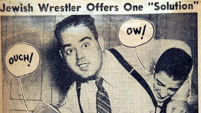 The wrestler who challenged Hitler
