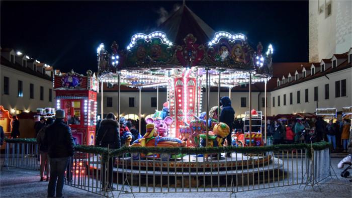 Marché de Noel au château de Bratislava
