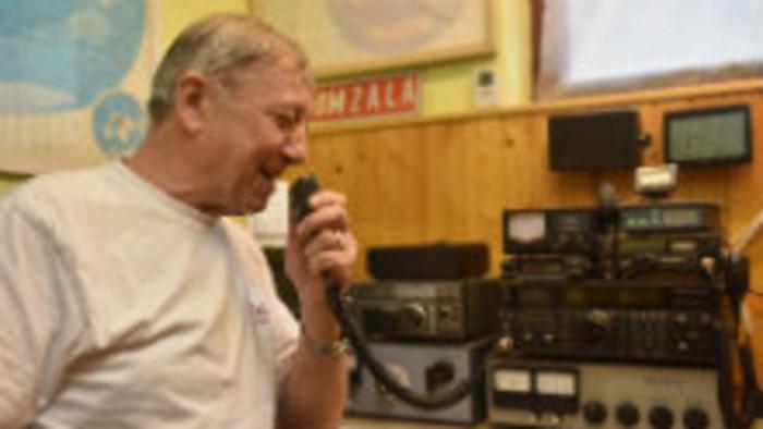 V klube s rádioamatérmi