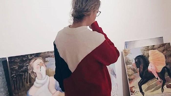 Lucia Dovičáková vystavuje opäť v Bratislave
