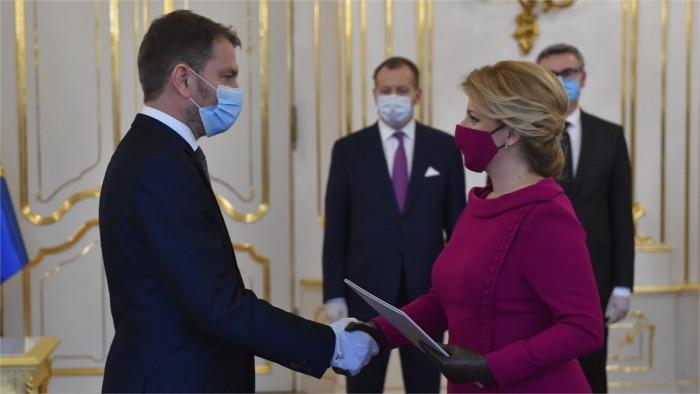 La Slovaquie a un nouveau gouvernement