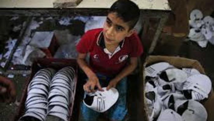 Detská práca vo svete