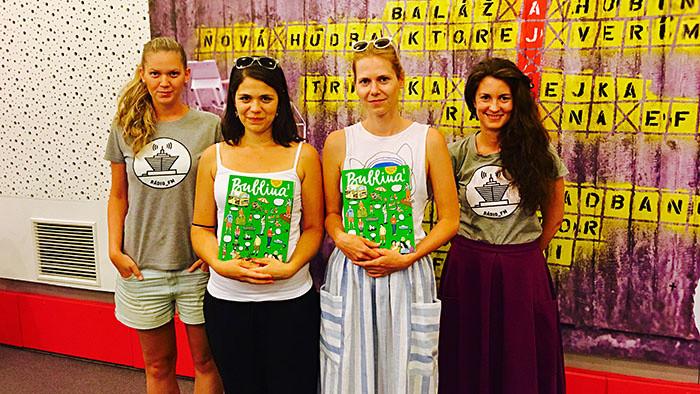 Broňa a Vanda a ich kamarátsky detský časopis v Popo_FM