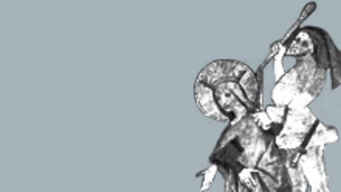 Hra o sv. Dorote (asi 14. storočie)