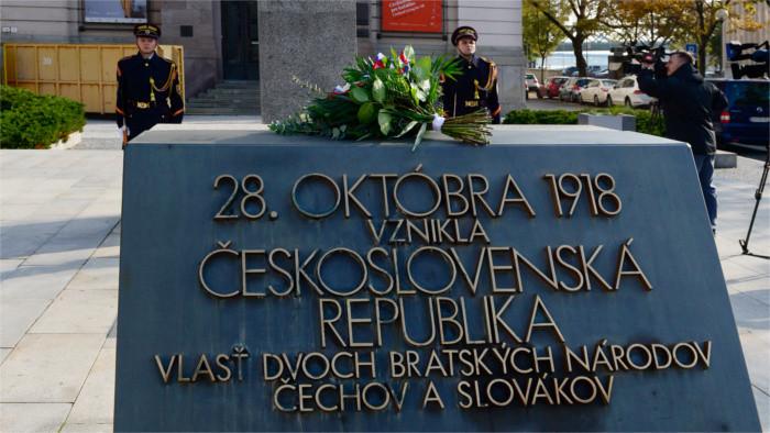 28 октября 1918 года – день возникновения Чехословакии