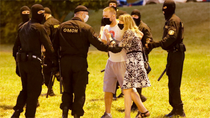 Slovakia condemns violence in Belarus