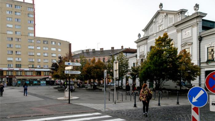 Bratislava hat einen Platz der Samtenen Revolution bekommen