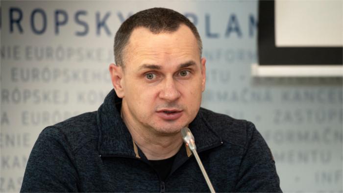 Oleg Sentsov in Bratislava
