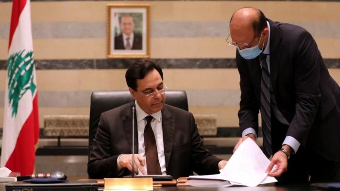 Lemondott a libanoni kormány