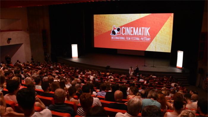 Festival Cinematik commence à Piešťany
