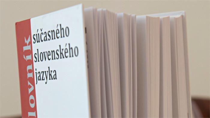 Aktualizovaný Krátky slovník slovenského jazyka