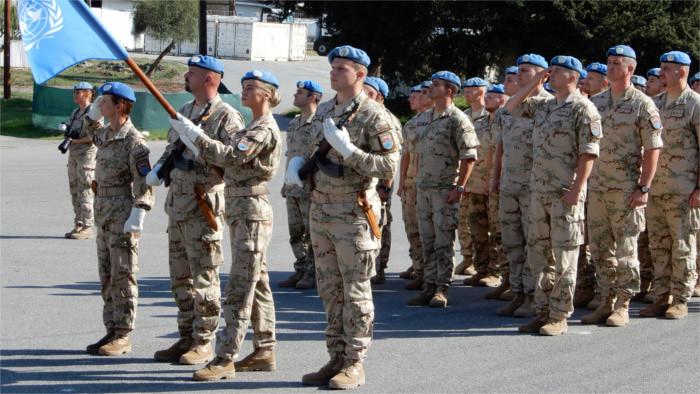 Министр обороны встретится с военнослужащими UNFICYP