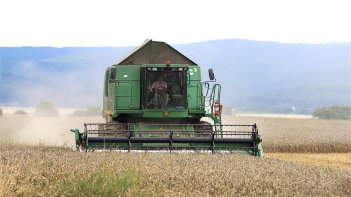 Los primeros resultados de la cosecha de los cereales son muy buenos