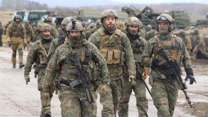 """Las maniobras """"Escudo Eslovaco 2019"""" orientadas a la protección de las fronteras"""