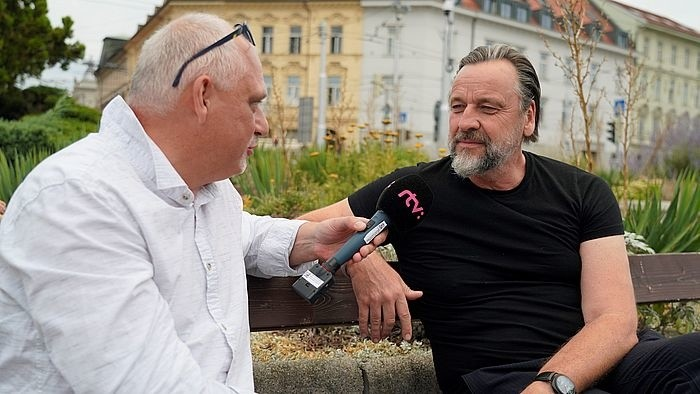 "Carsten Sander mit Fotoprojekt ""Faces of Europe"" in Bratislava"