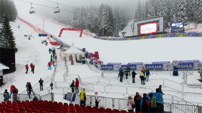 Alpiner Skiweltcup in Jasná