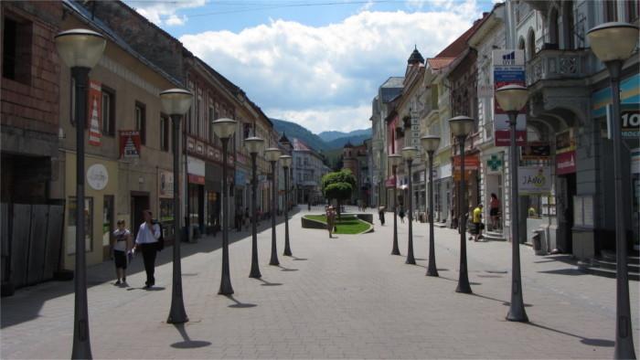 Paseos por la ciudad de Ružomberok