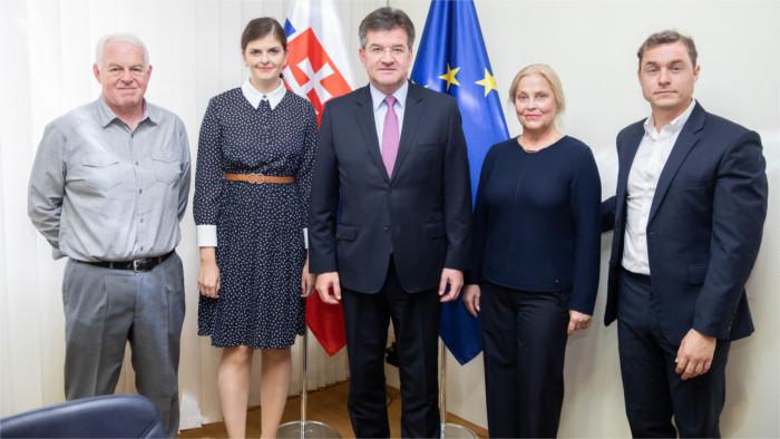 Minister Lajčák prijal členov Platformy rozvojových organizácií