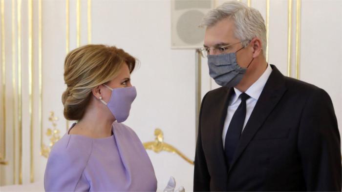 Президент Чапутова приняла главу МИД