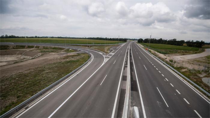 Pläne für den Ausbau von Autobahnen im Jahr 2021