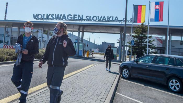 La economía eslovaca cae un 12 %, la mayor recesión desde 1996