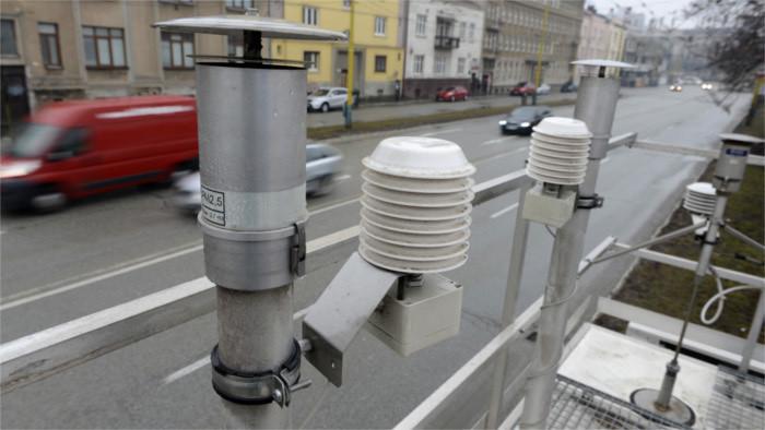 Kleine Messstationen überwachen Luftqualität in Nitra