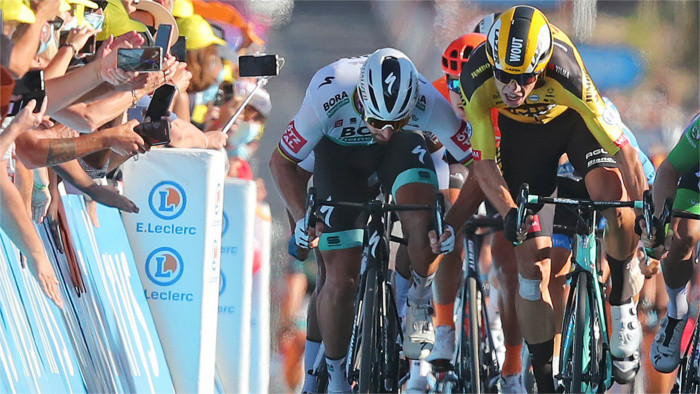Peter Sagan penalised in Tour de France stage 11