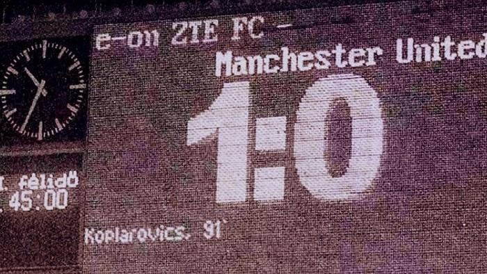 Amikor Koplárovics Béla térdre kényszerítette a Manchester Unitedet