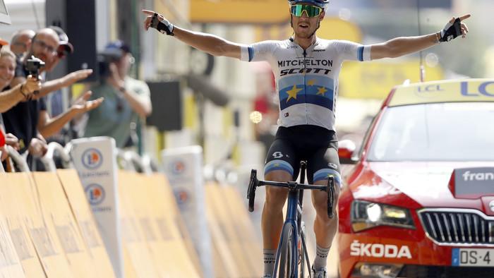 Do boja o zelený dres vstupuje ďalší jazdec, na Sagana stráca len 15 bodov