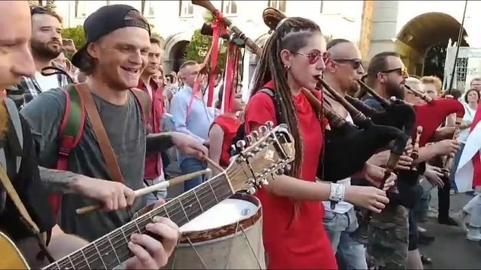 Hudba sveta_FM: Piesne protestov