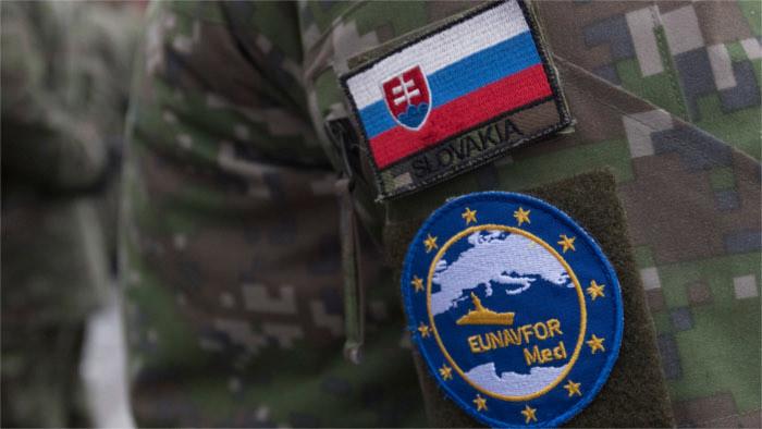 Cinq militaires slovaques au Commandement de l'opération Irini
