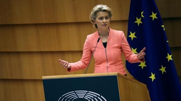 Ursula von der Leyen első évértékelő beszéde