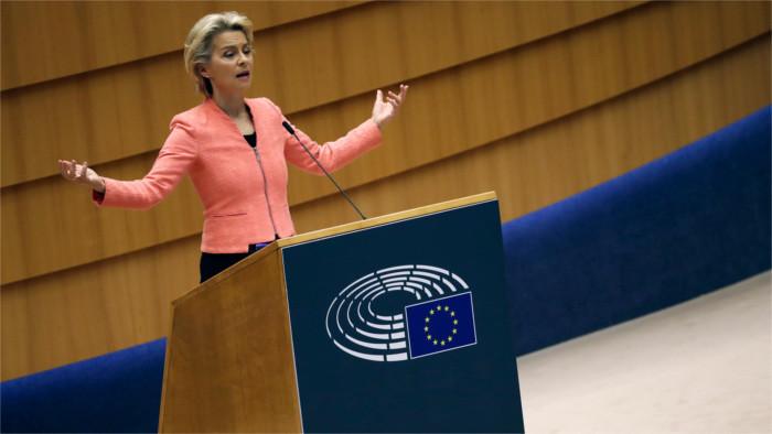Von der Leyen's call for stronger foreign policy heard in Bratislava
