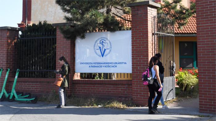 Universités slovaques : un étudiant sur 12 vient de l'étranger