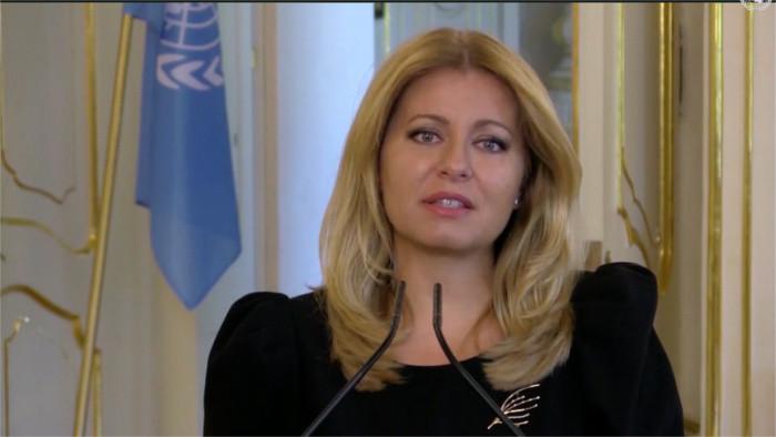 Čaputová interviene en el Debate General de la 75° Asamblea de la ONU