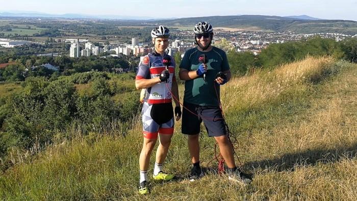 Na bicykli zo Serede do Hlohovca