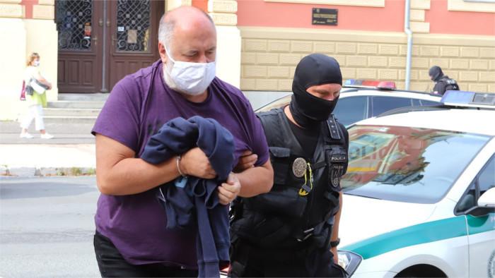 Four judges go into custody