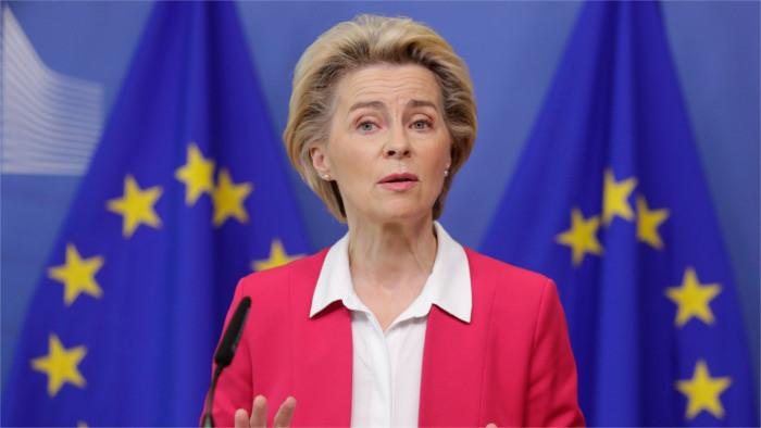 Ursula von der Leyen presenta nuevo pacto migratorio de la Unión Europea