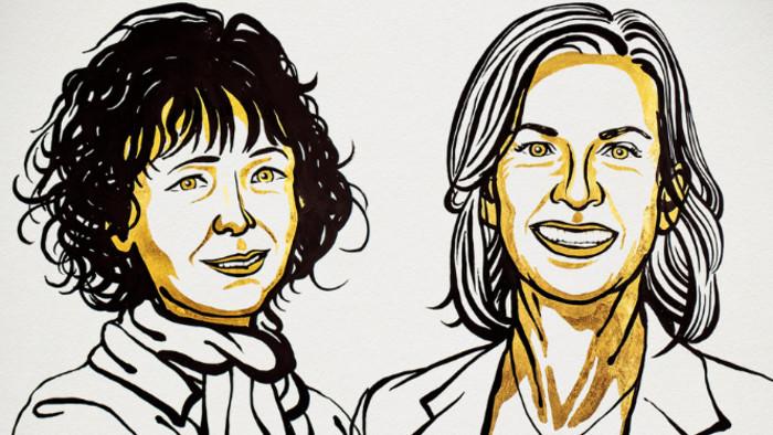 A genetikai olló felfedezéséért jár az idei kémiai Nobel-díj