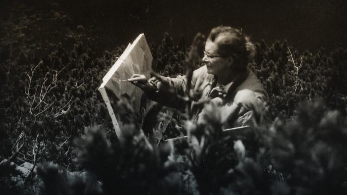 S akademickou maliarkou Lídou Hynkovou o hudbe, prírode a maľovaní (1981)