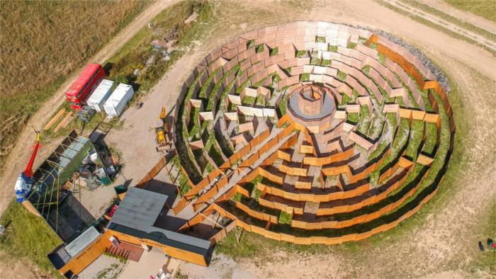 Круговой лабиринт в Липтовском регионе
