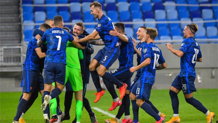 Slovak football squad beats Republic of Ireland