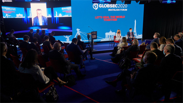 "Globsec 2020: ""Let's heal the world together!"""